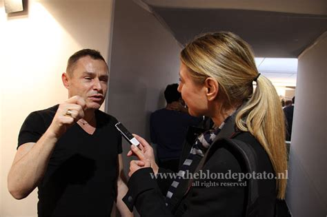 Backstage With Tom Pecheux At Doori by Ontmoeting Met Make Up Goeroe Tom Pecheux Trendystyle