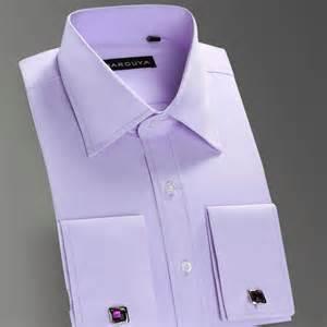 high quality mens luxury french cuff button dress shirts