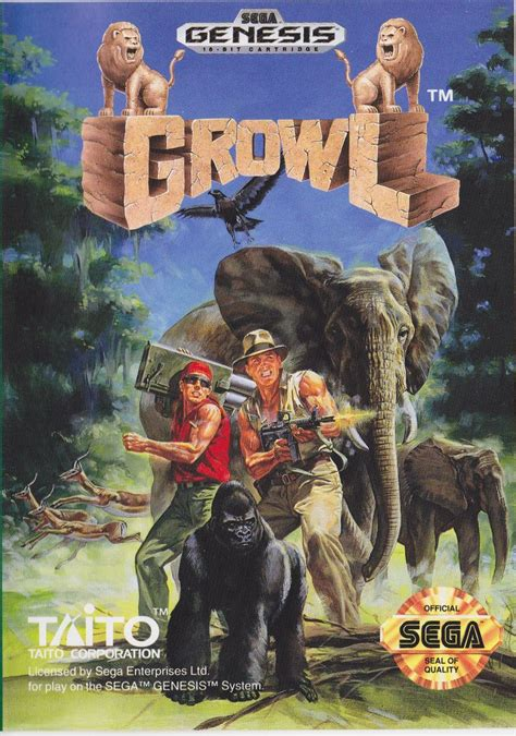 Grow L by Growl For Genesis 1991 Mobygames