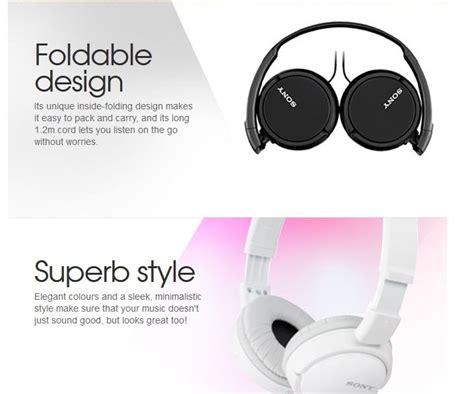 Headset Sony Termurah headset sony mdr zx 110a jual murah garansi resmi sony