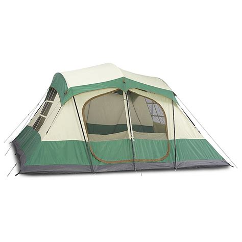 cabin tents guide gear 13x13 compass 12 cabin tent 623219 cabin