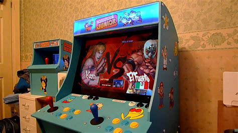 street fighter 4 arcade cabinet mini arcade machine street fighter 4 youtube