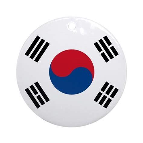South Korea Flag Ornament (Round) by worldonashirt