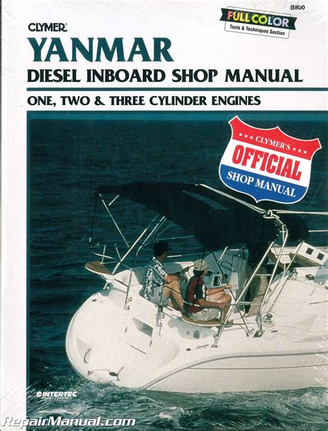 boat repair manuals yanmar diesel inboard boat engine shop manual one two