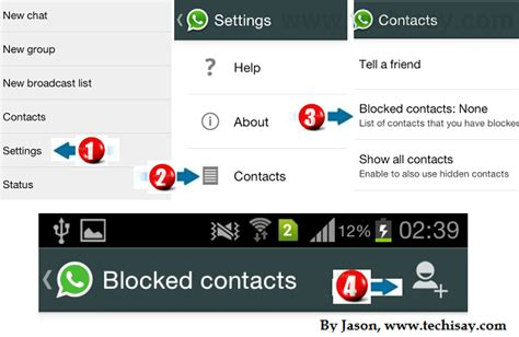 how to block contacts on android how to block someone on whatsapp iphone android nokia blackberry