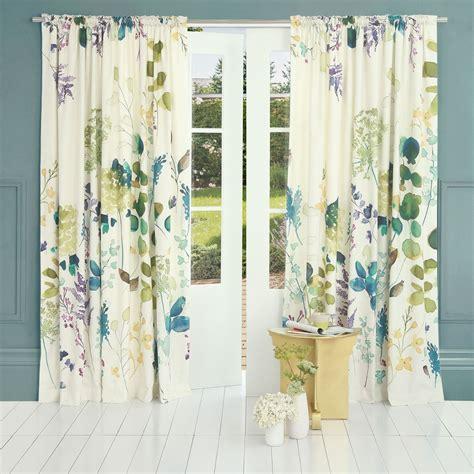 botanical curtains botanical curtain bluebellgray