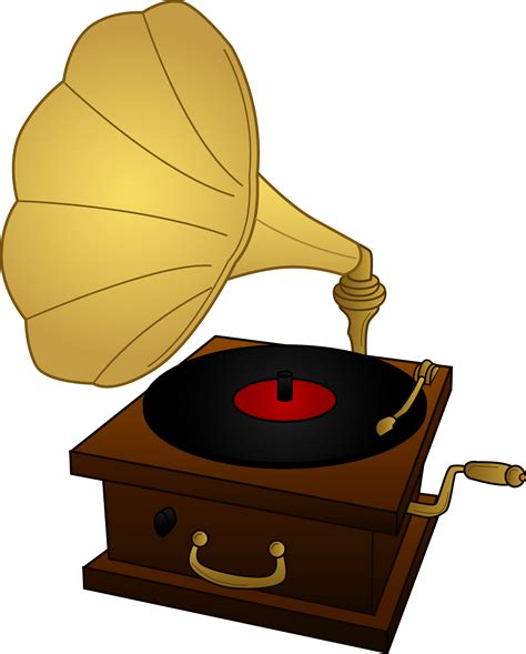 Record Player Clipart gramophone record player free clip