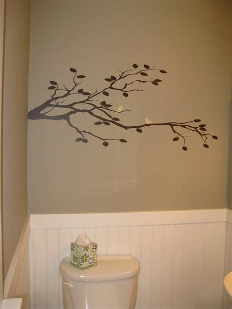 birds on branch tree vinyl wall art sticker decal art bird duo on tree branch vinyl wall decal custom