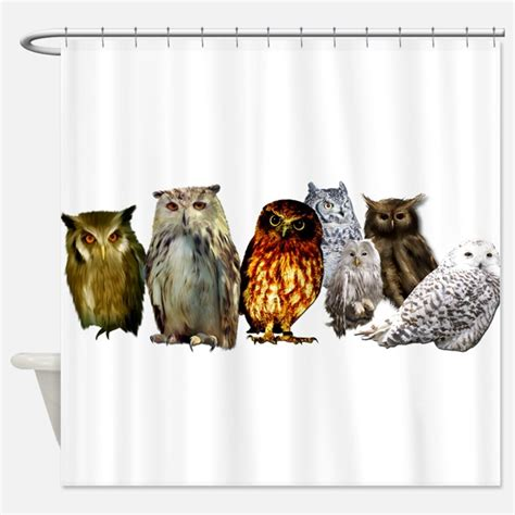 owl shower curtain owl shower curtains owl fabric shower curtain liner