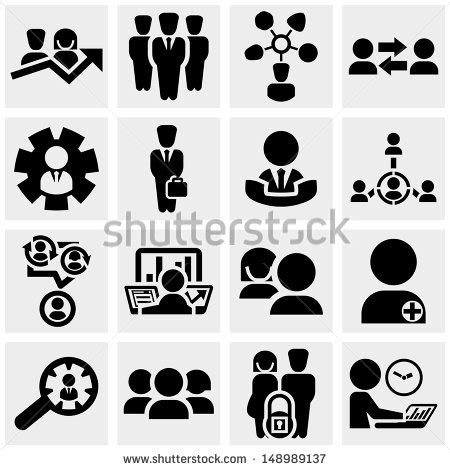 Office And Business Vector Icons Set On Gray Royalty Free Stock Images Image 33973149 Stock Images Royalty Free Images Vectors