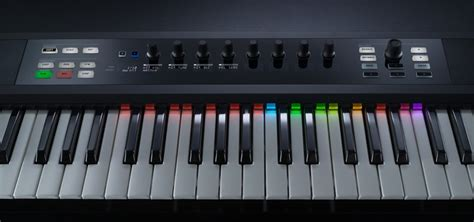 piano keyboard with light up keys native instruments kontrol s25 midi keyboard review the