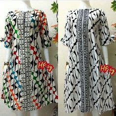 Dress Batik Tunik Lantasa Mataram forbidden batik named parang barong that only worn by the