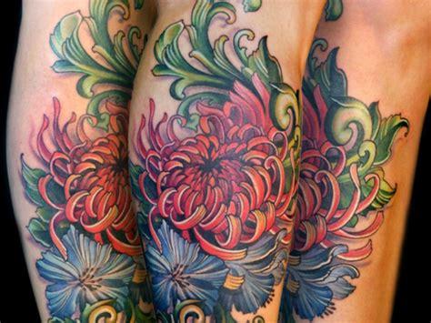 chrysanthemum flower tattoos tattoofanblog
