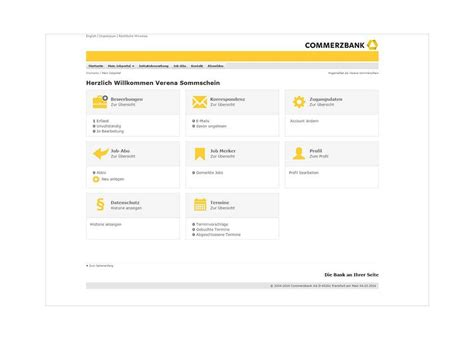Bewerbung Commerzbank Commerzbank Bewerbermanagement Software Milch Zucker