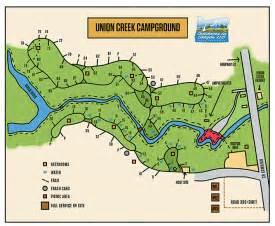 oregon cground map union creek cground rogue recreation
