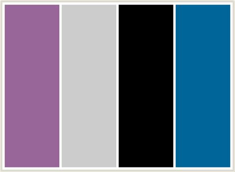 what colors go with grey colorcombo19 with hex colors 996699 cccccc 000000 006699