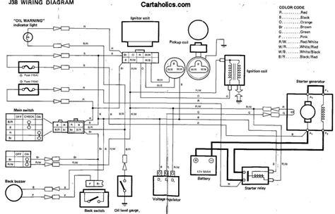 yamaha   golf cart wiring diagram gas cartaholics golf cart forum