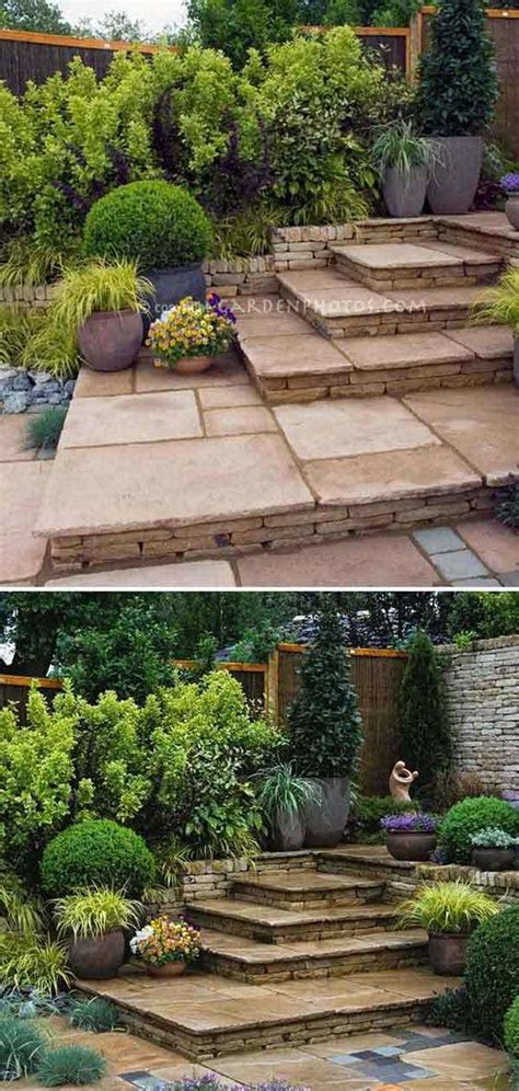 awesome diy ideas   garden stairs  steps