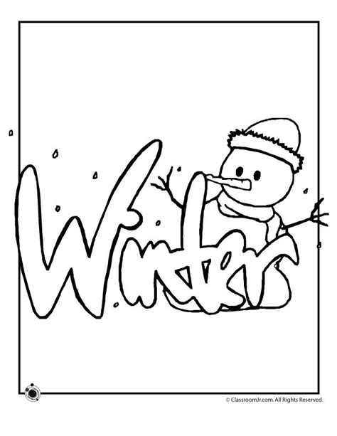 coloring pages winter winter coloring pages bing images art craft pinterest