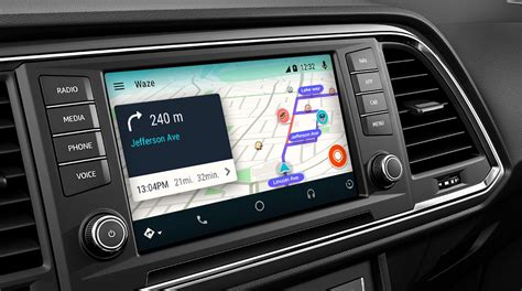 how to use gps on android waze finally arrives on android auto in car gps app