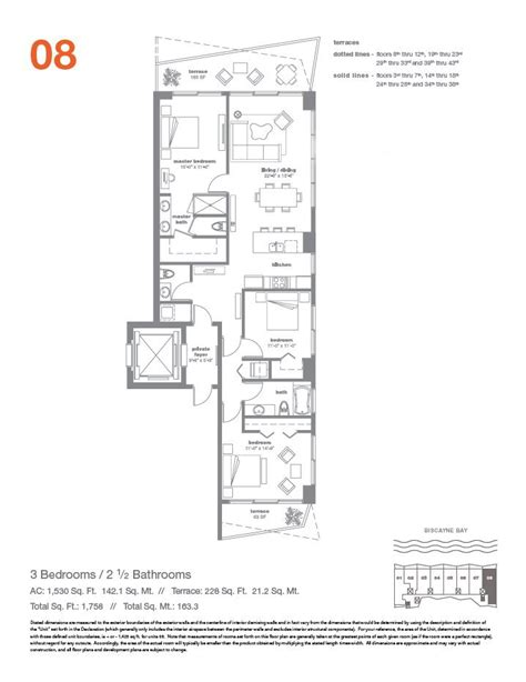 Icon Condo Floor Plan by Icon Bay Miami Condo 428 Ne 28th Str Florida 33137