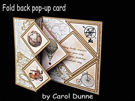 Get Well Soon Pop Up Card Template by Fold Back Pop Up Vintage Cup580369 173 Craftsuprint