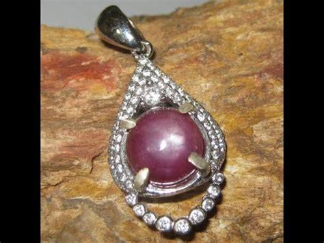 Batu Ruby 6119 Carat liontin batu mulia ruby 6 00 carat silver 925 model timur tengah
