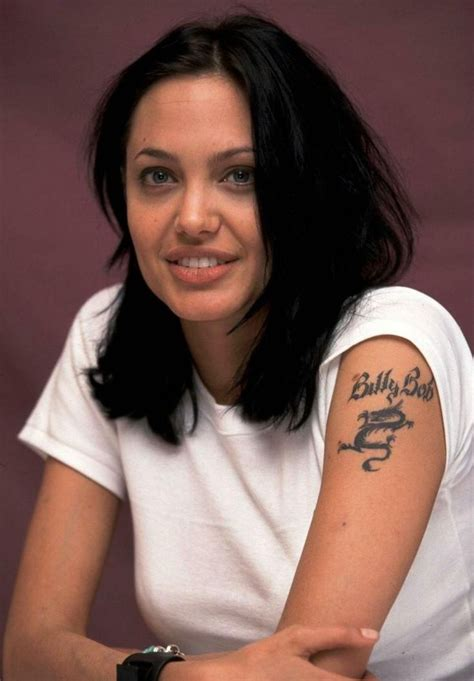 angelina jolie billy bob tattoo bob hair search