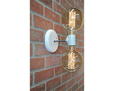 double light wall sconce industrial wall sconces industrial light electric double