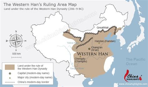 ancient china map 10 facts on the han dynasty in ancient china 2 000 years ago