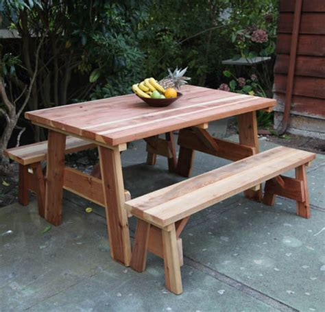 Redwood Out Door Picnic Table Set Bana Home Decors Amp Gifts