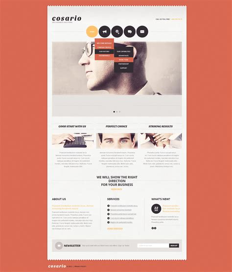 free templates for advertising agency advertising agency joomla template 40006
