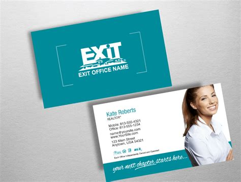 Exit Realty Business Cards Exr203 Exit Realty Business Cards Template