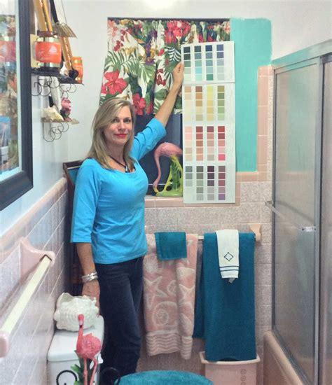 retro design dilemma paint colors or wallpaper for diane