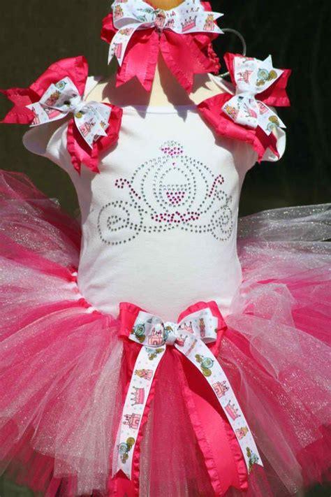 Dres Murah Fuschia Tutu Set With Hair Pin custom tutu set on luulla