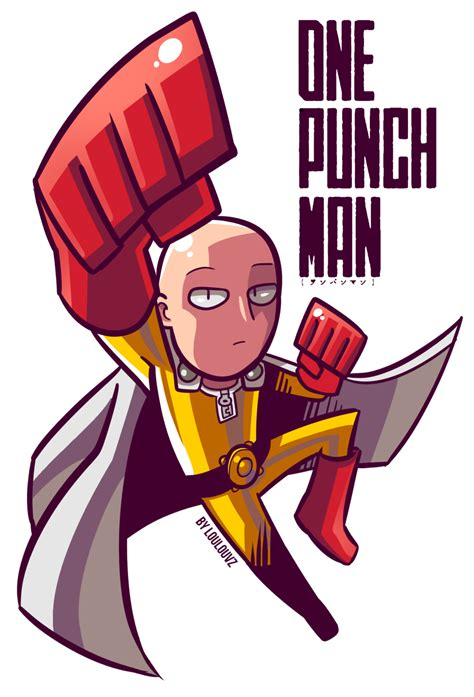 one punch one punch fanart by loulouvz by loulouvz on deviantart