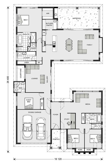 gj gardner homes floor plans mandalay 338 our designs new south wales builder gj