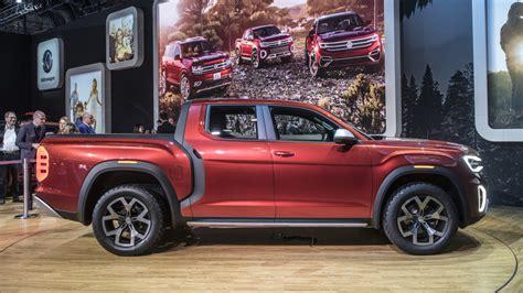 volkswagen truck concept volkswagen reveals atlas tanoak truck concept