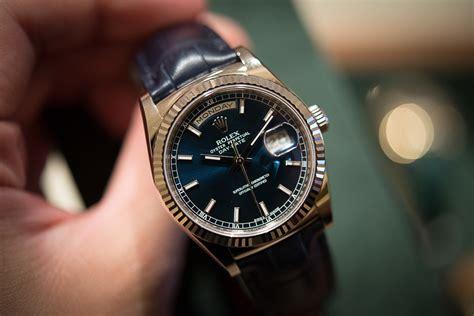 Jam Replika Wall Clock Rolex Submariner Twotone Blue 1 1 Dgn Aslinya luxury rolex day date swiss replica watches reviews