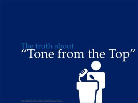 tone on tone the truth about tone from the top by ericpesik