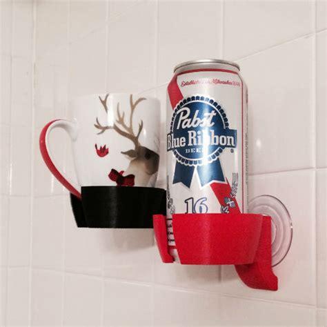 Shower Drink Holder by Shower Holder Shut Up And Take Money