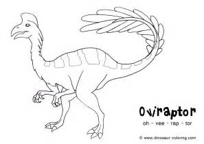 dinosaur coloring pages pdf oviraptor coloring