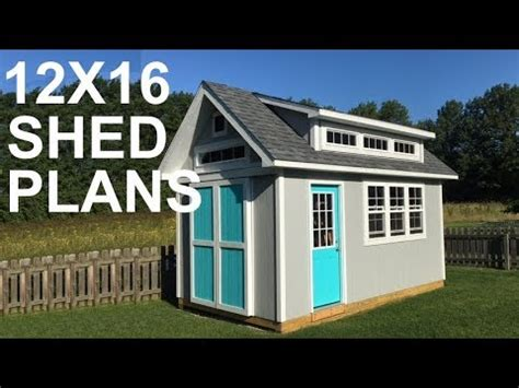 shed plans video youtube