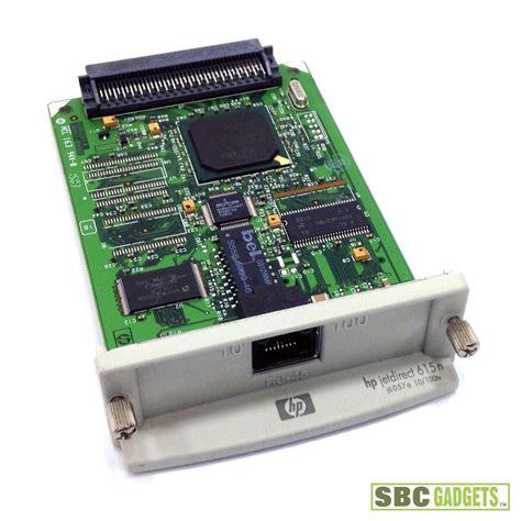 resetting hp jetdirect card hp jetdirect 615n eio 10 100tx ethernet print server card