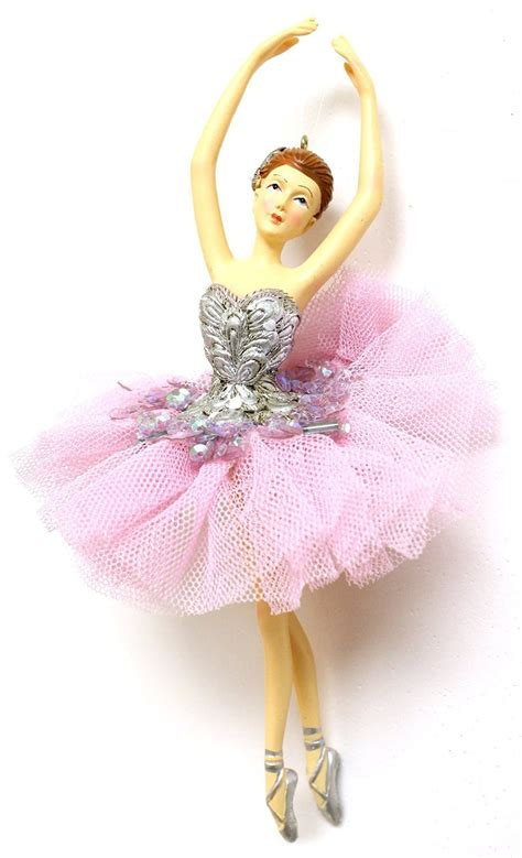 amazon com christmas decoration 6 5 quot ballerina christmas