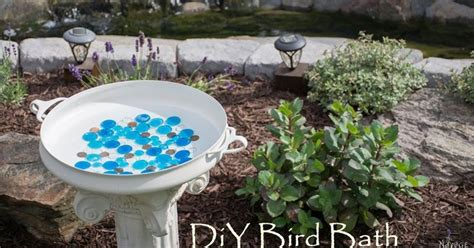 how to make an outdoor bird bath outdoor designs