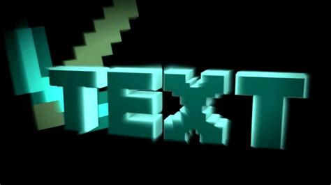 minecraft intro template minecraft cinema 4d intro template link in the