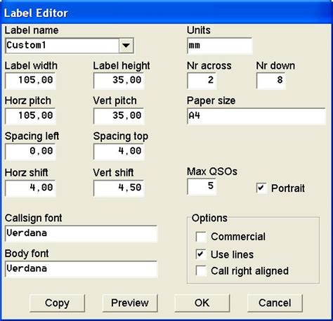 How To Make A4 Size Paper - label formats for a4 paper size