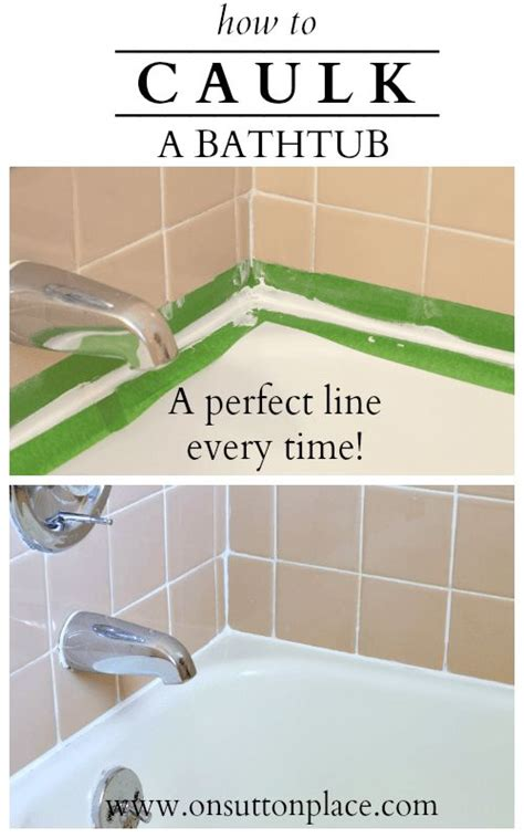 best way to caulk a bathtub 25 best ideas about clean bathtub on pinterest bathtub
