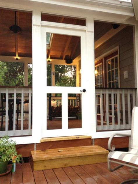 screen porch doors screened porch project project showcase diy chatroom